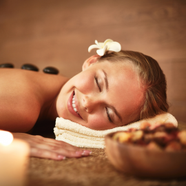 Orange Hot Stone Massage