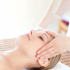Antistress head, neck & sholders massage
